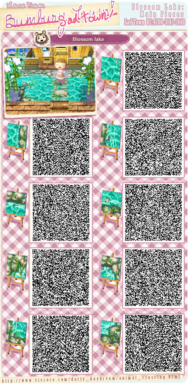 Animal crossing new leaf qr codes boden wiese for Animal crossing boden qr