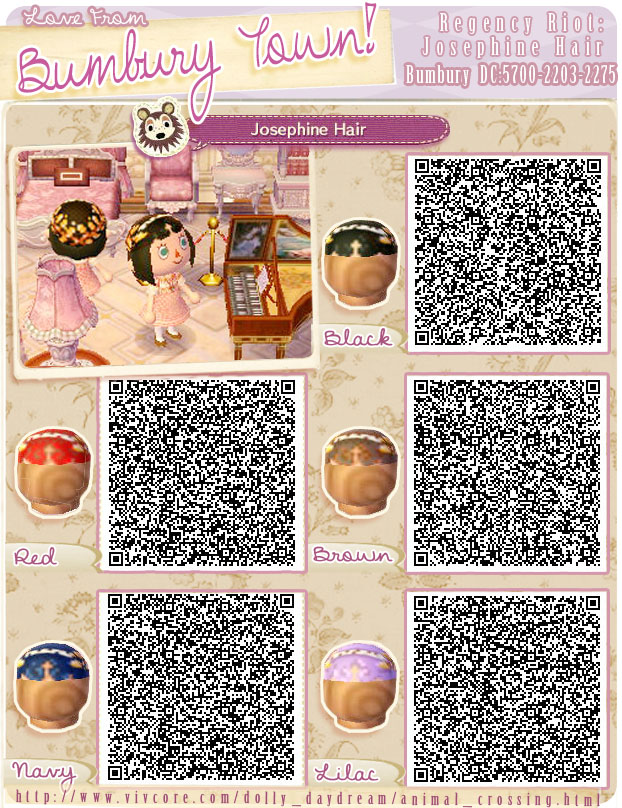 Hair Animalcrossing QR-Codes
