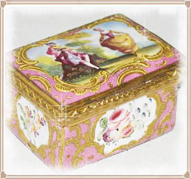 18th Century Patch Box